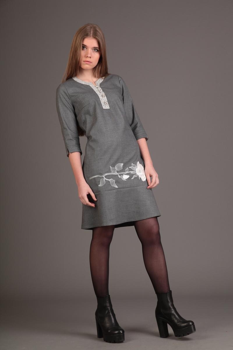 платье AMORI 9147 молочн.роза