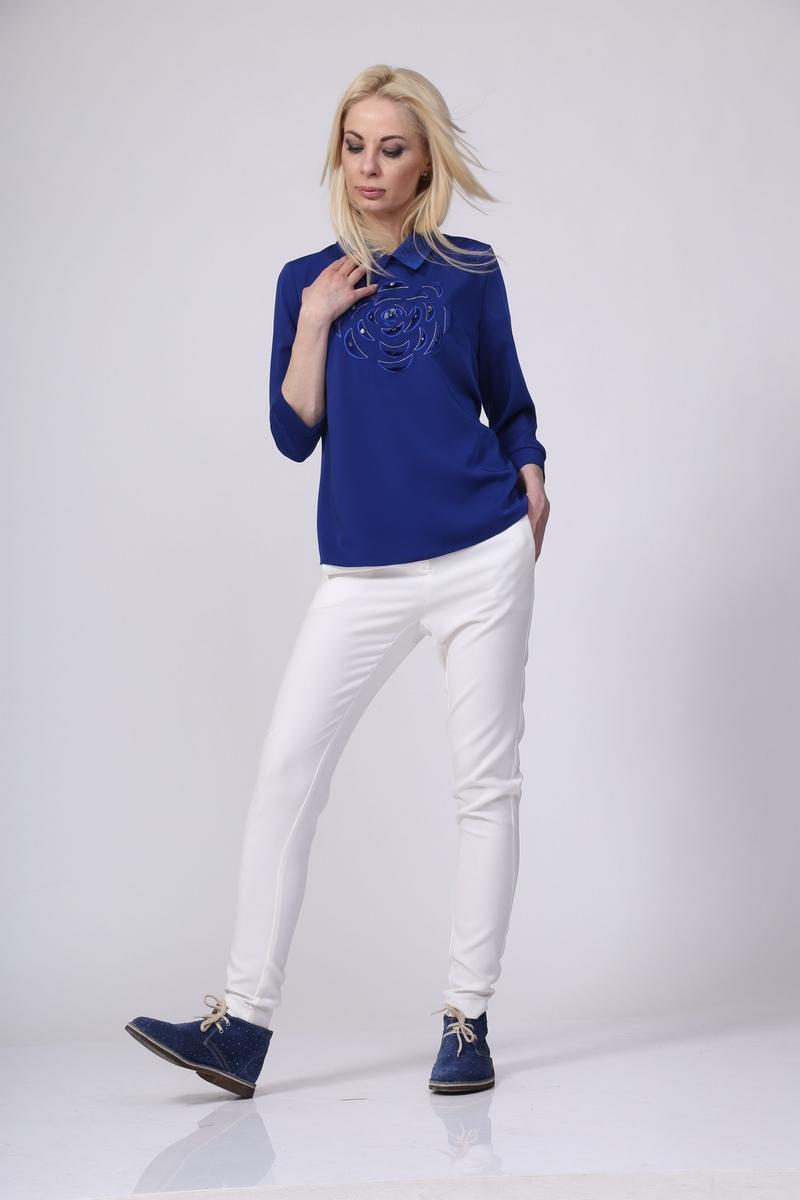 блуза AMORI 6016 С_василек