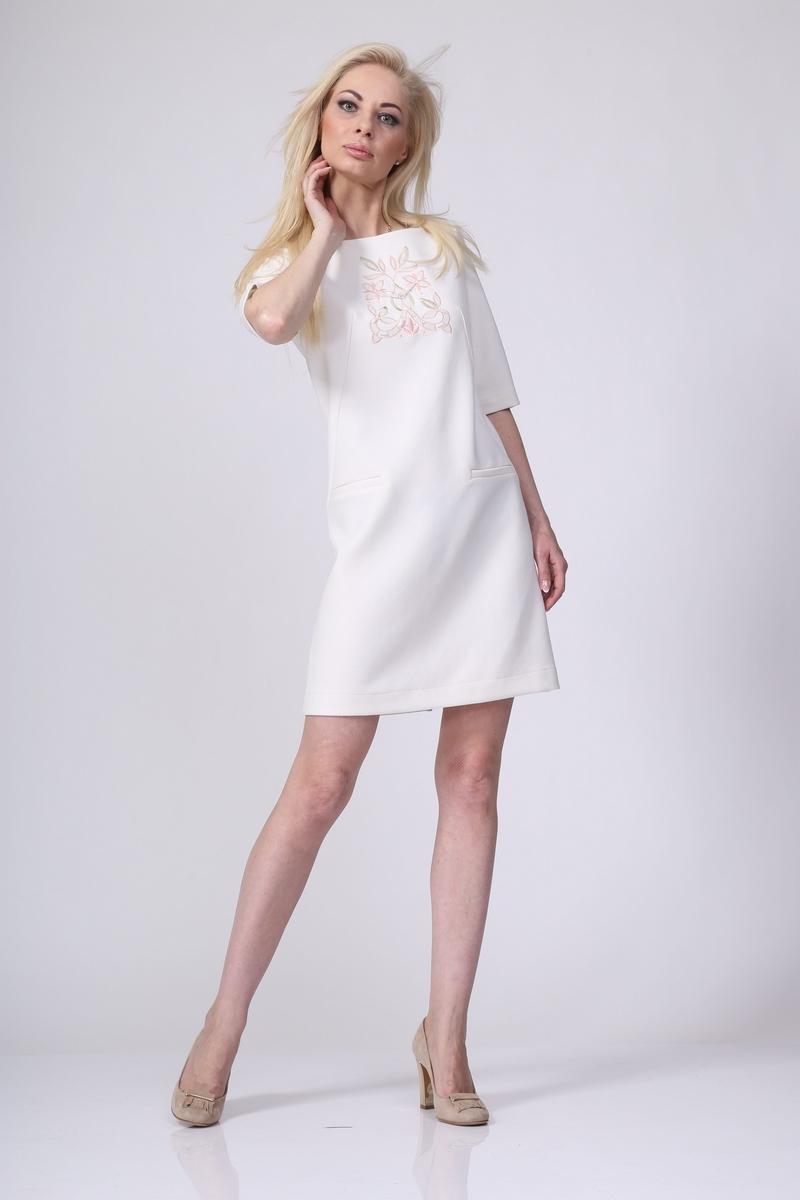 платье AMORI 9154 молочный