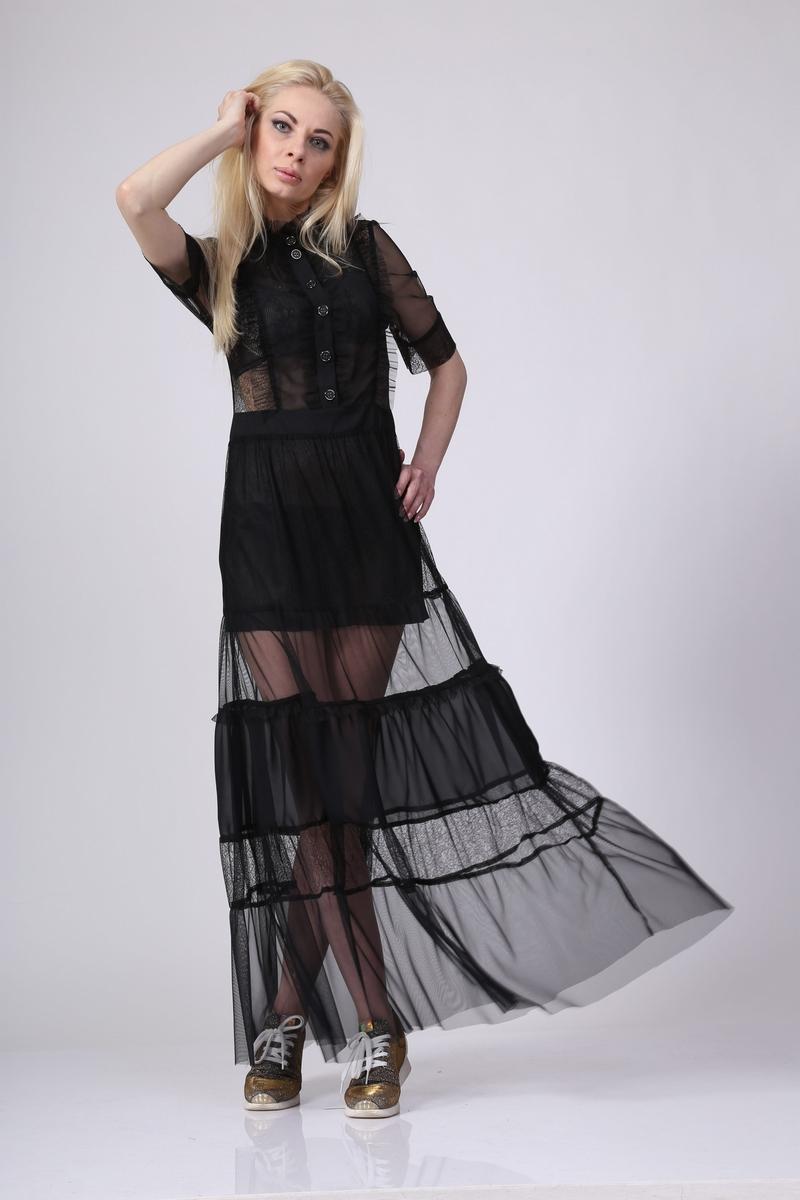платье AMORI 9160 черный