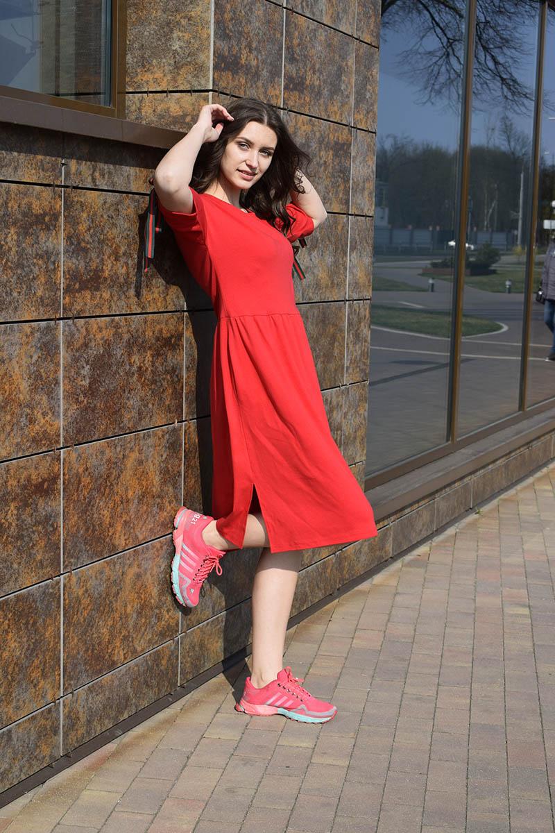 платье AMORI 9397 красный